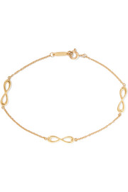 Tiffany & Co. Infinity 18-karat gold bracelet
