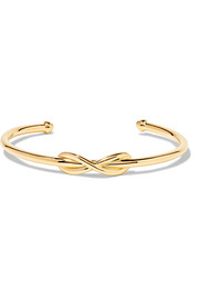 Tiffany & Co. Infinity 18-karat gold cuff
