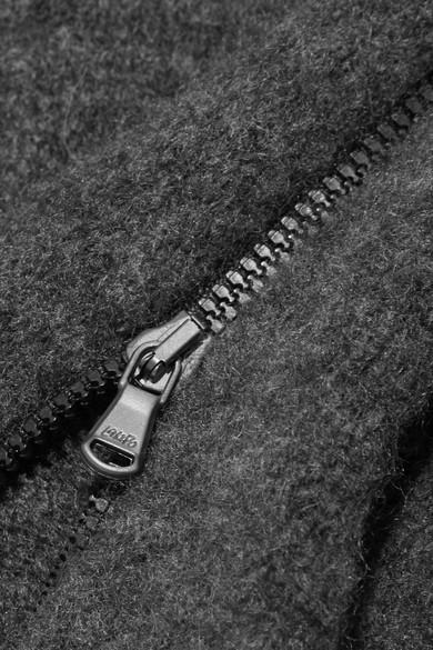 James Perse Rollkragenpullover aus einer gefilzten Kaschmirmischung