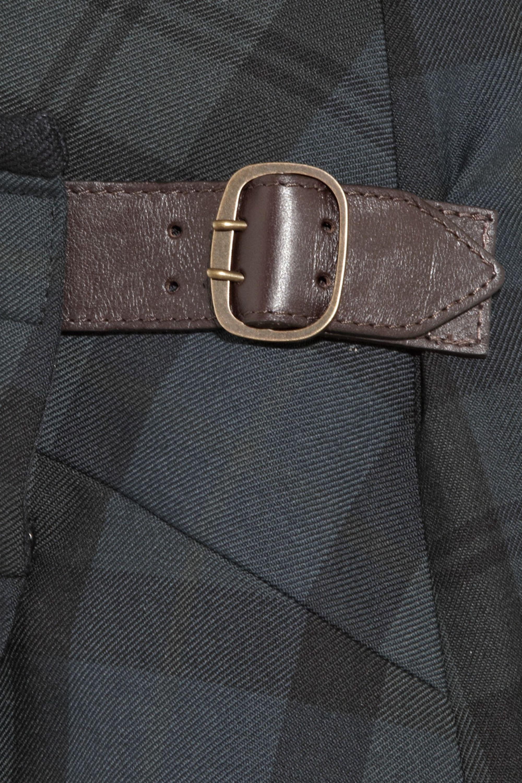 Chloé Pleated wool mini skirt