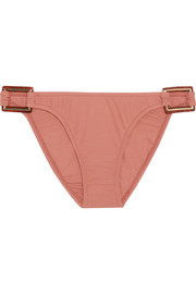 Paris embellished bikini briefs