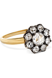 Collection 18-karat gold diamond ring