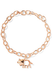Save The Wild 18-karat rose gold diamond bracelet