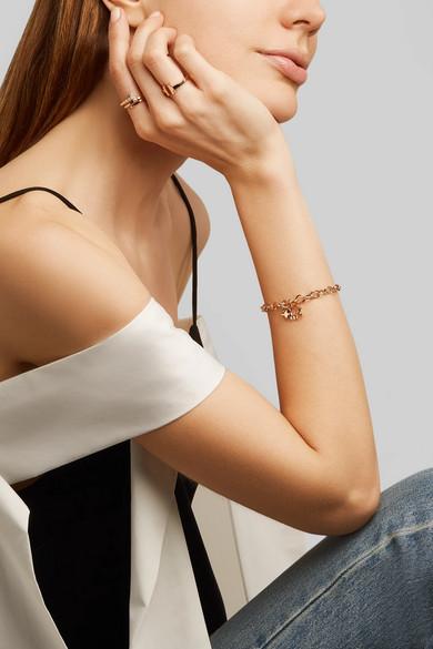 5695227aad488 Save The Wild 18-karat rose gold diamond bracelet