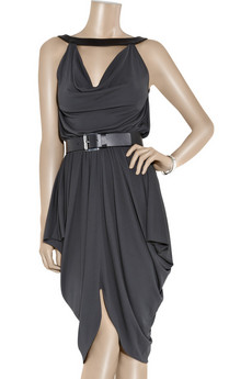Michael Kors | Crepe-jersey draped dress | NET-A-PORTER.COM from net-a-porter.com