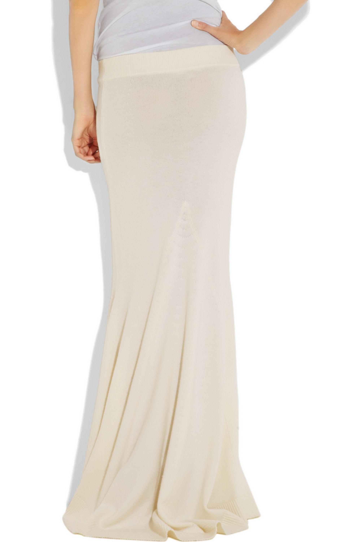 Michael Kors Cashmere maxi skirt