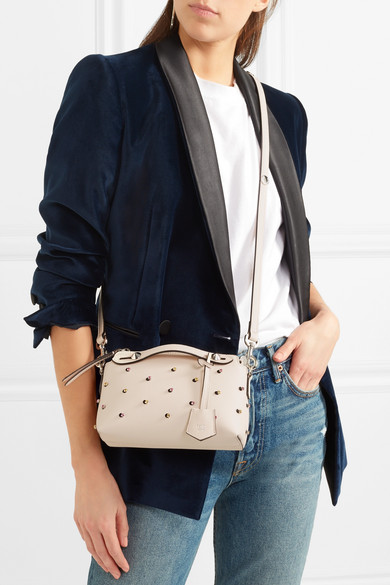 ff8f049ba8 By The Way mini embellished leather shoulder bag