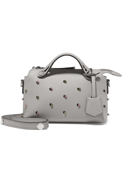 f69f51c3004c Fendi. By The Way mini embellished leather shoulder bag