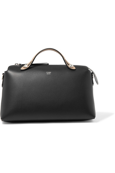 Fendi By The Way kleine Schultertasche aus strukturiertem Leder in Colour-Block-Optik