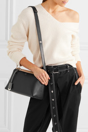 Fendi By The Way small color-block textured-leather shoulder bag
