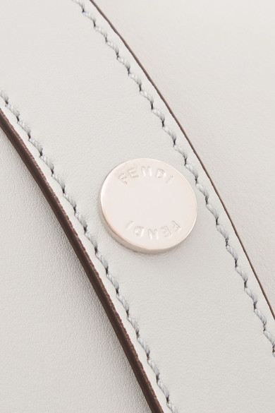 Fendi By The Way kleine Schultertasche aus Leder in Colour-Block-Optik