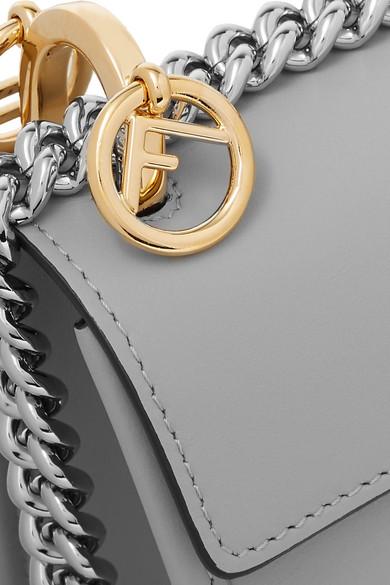 Verkauf Verkauf Online Fendi Kan I mini Schultertasche aus Leder Billige Bilder Neuesten Kollektionen Verkauf Online Billig Verkauf Sneakernews Günstig Online 9fIB863oBL