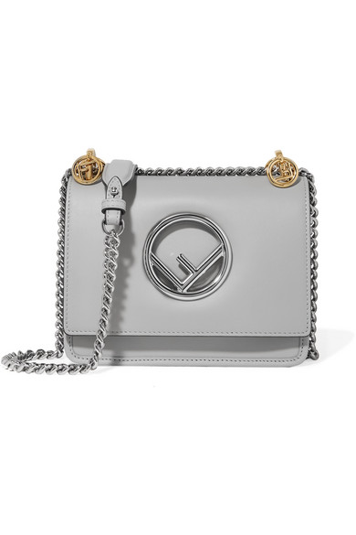 e32130a4417c Fendi. Kan I mini leather shoulder bag
