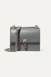 Fendi Kan I mini leather shoulder bag