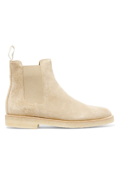 Common Projects Chelsea Boots aus Veloursleder