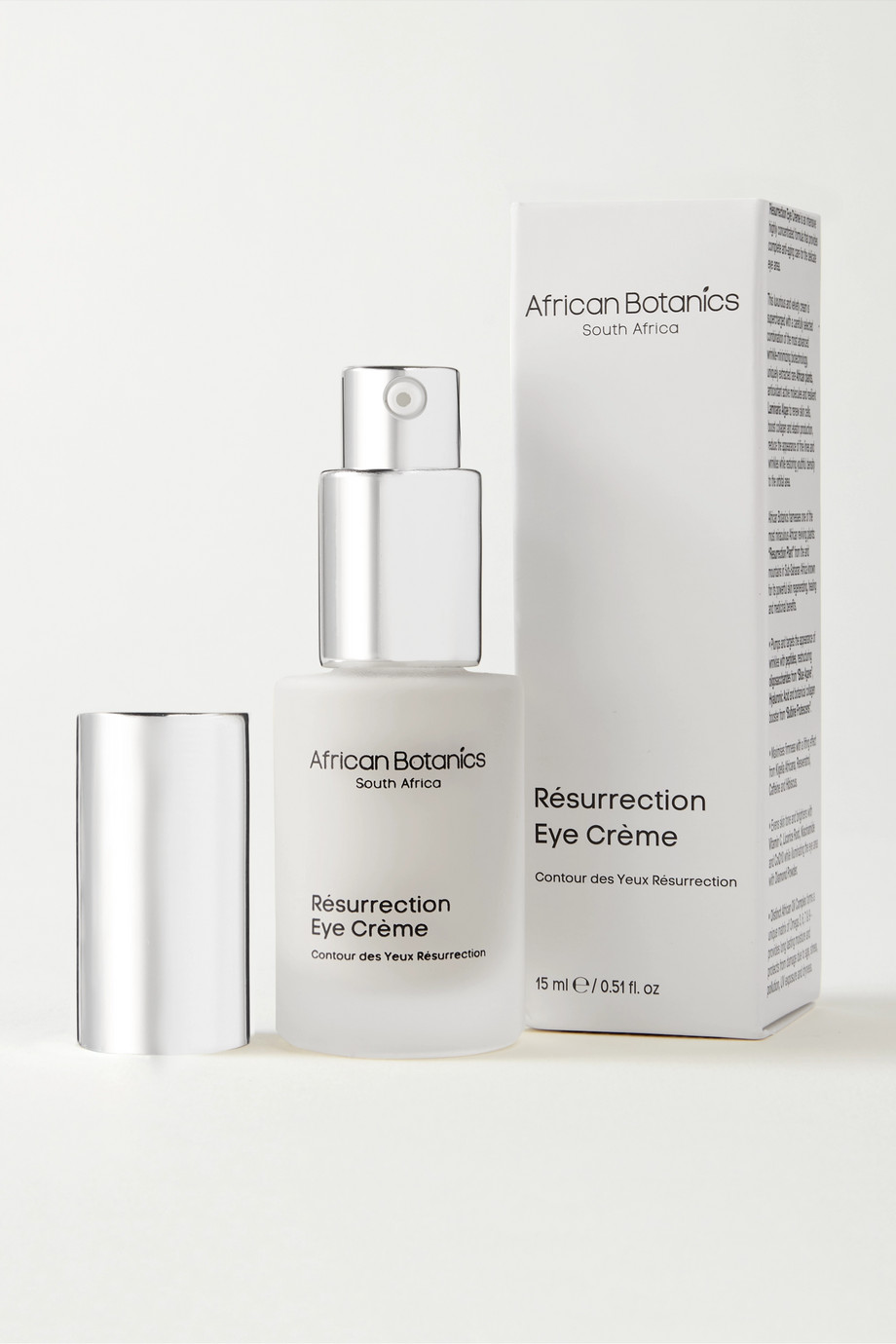African Botanics Résurrection Eye Cream, 15ml