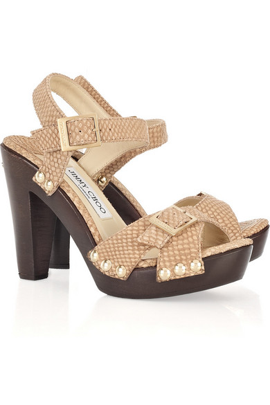 free shipping high quality Jimmy Choo Urban Embossed Sandals classic cheap price under $60 online agxdi