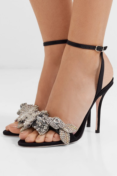 under $60 cheap online lowest price cheap online Sophia Webster Lilico Satin Sandal really cheap shoes online cheap sale popular online sale online Zyy2bz04qO