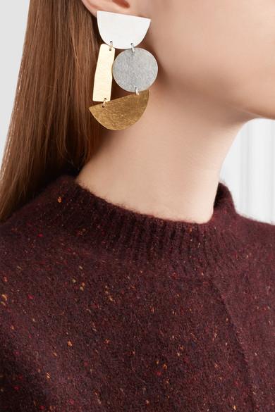 Annie Costello Brown Masha earrings tZZmA7HPd