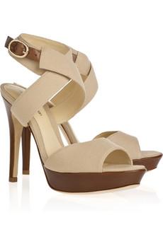 Alexandre Birman|Lona Terra ankle-wrap sandals|NET-A-PORTER.COM