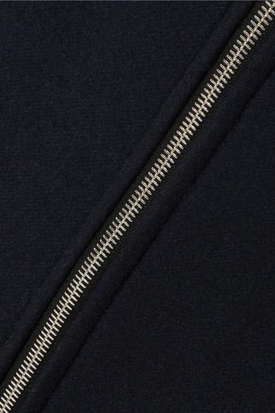 A.P.C. Atelier de Production et de Création Charlotte Minirock aus einer Wollmischung mit Metallic-Besatz