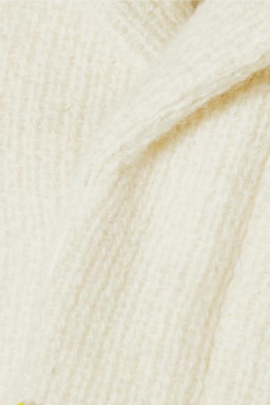 A.P.C. Atelier de Production et de Création Eleven Mantel aus einer gerippten Woll-Mohairmischung