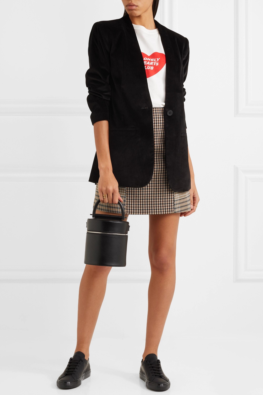 Madewell Cotton-blend velvet blazer