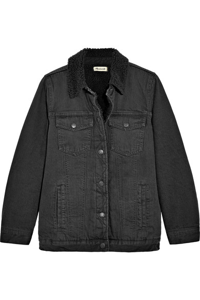 Madewell Jacke aus Denim in Oversized-Passform