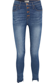 Madewell Distressed high-rise skinny jeans