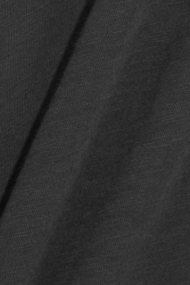 Madewell Whisper T-Shirt aus Baumwoll-Jersey mit Flammgarneffekt