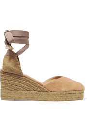 Chiara Espadrille-Wedges aus Canvas