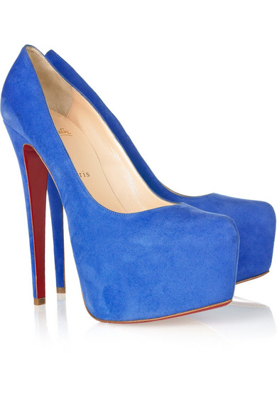 christian louboutin pumps blue