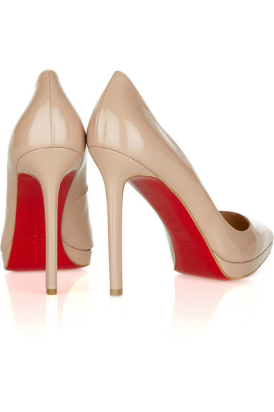 christian louboutin pigalle plato 120 patent leather pumps