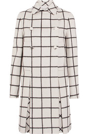 Valentino Checked double-faced wool coat