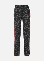 Equipment Florence striped printed silk-satin straight-leg pants