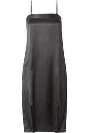 Equipment Kelby silk-satin midi dress