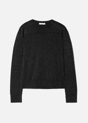 Equipment Irene metallic wool-blend sweater