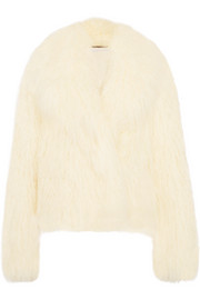 Stella McCartney Faux shearling coat