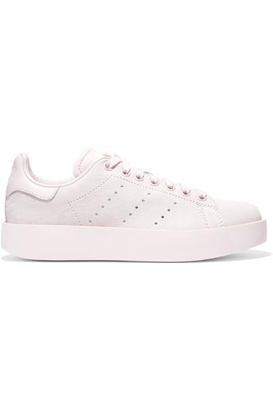 adidas Originals Stan Smith Bold Sneakers aus Veloursleder mit Lederbesätzen Rabatt Offizielle Seite Günstiger Preis Großhandel Bulk-Design edNqU