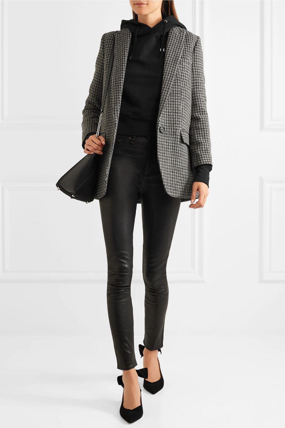 rag & bone Leather skinny pants