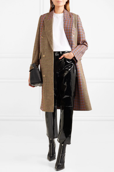 Rag & Bone Trousers With Straight Leg Of Patent Leather