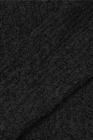 rag & bone Freda Lochstrickpullover aus einer Alpakamischung