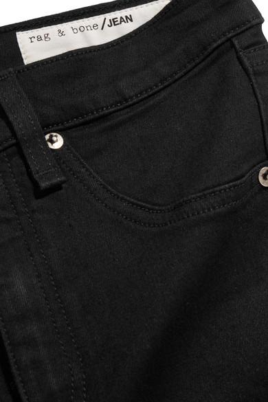 rag & bone Hoch sitzende Skinny Jeans