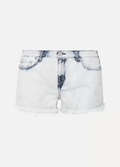 rag & bone Ausgefranste Jeansshorts