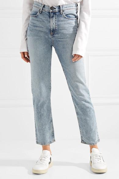 rag & bone Cigarette hoch sitzende Jeans mit schmalem Bein