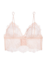 Anine Bing Stretch-lace soft-cup bra