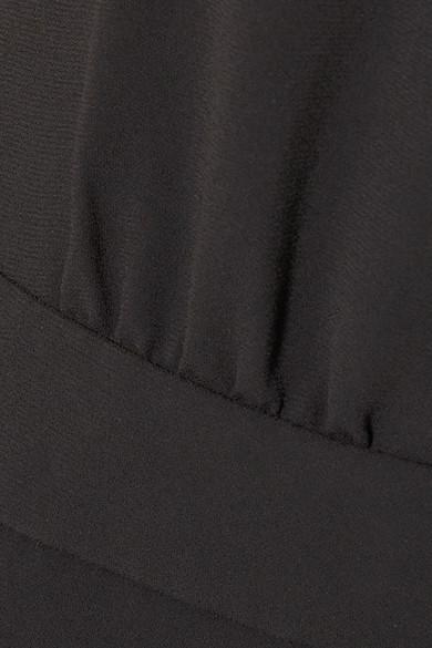 J.Crew Jackpot Jumpsuit aus Crêpe mit asymmetrischer Schulterpartie