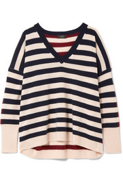J.Crew Rosalyn striped cashmere sweater