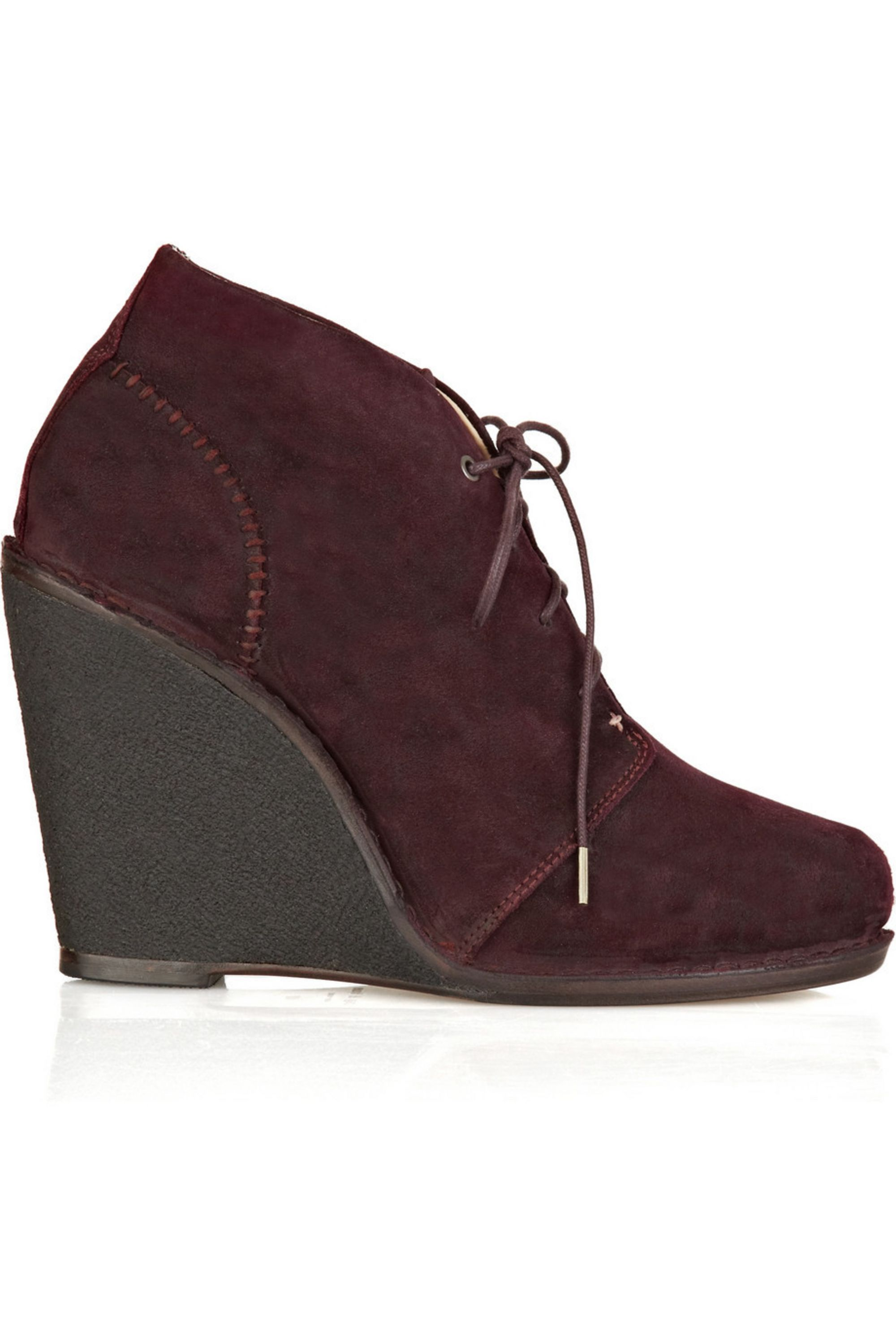 rag & bone Odval Desert suede wedge ankle boots