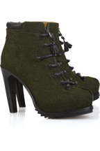 Rag & bone Mallory leather lace-up ankle boots